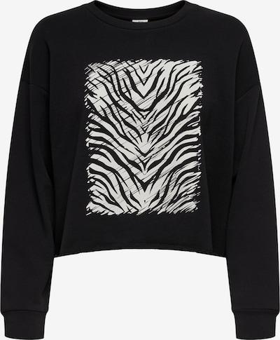 JDY Sweatshirt in schwarz / weiß, Produktansicht