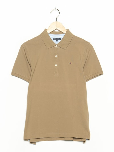 TOMMY HILFIGER Polohemd in S in dunkelbeige, Produktansicht