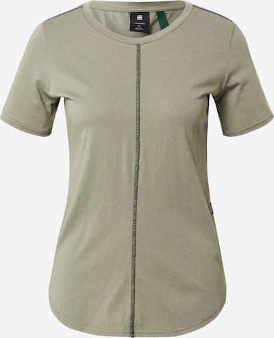 G-Star RAW Shirt in de kleur Olijfgroen / Zwart, Productweergave