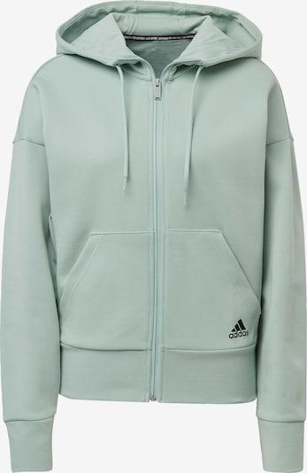 ADIDAS PERFORMANCE Sportief sweatvest in de kleur Mintgroen / Zwart, Productweergave