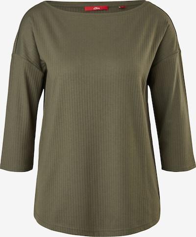 s.Oliver Shirt in oliv, Produktansicht