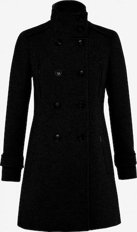 Salsa Between-Seasons Coat in Black