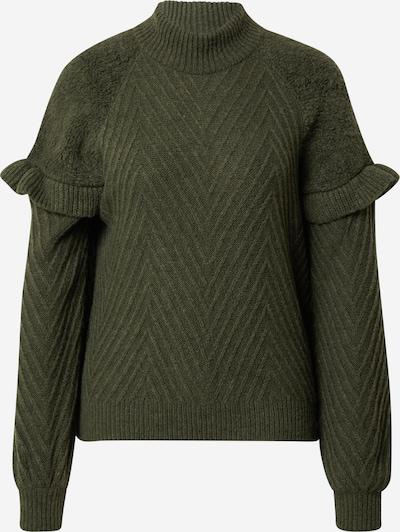 Guido Maria Kretschmer Collection Pullover 'Lewe' in grün, Produktansicht