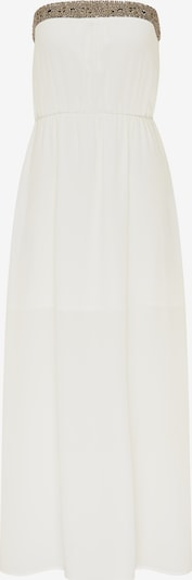 DreiMaster Vintage Avondjurk in de kleur Goud / Wit, Productweergave