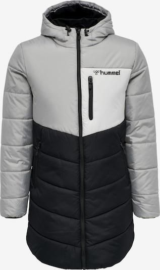 Hummel Winterjas in de kleur Grijs / Zwart / Wit, Productweergave