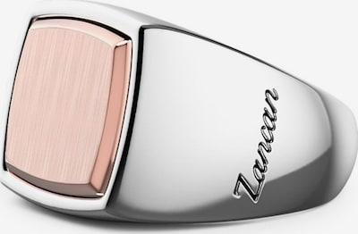 Zancan Ring in rosegold / silber, Produktansicht