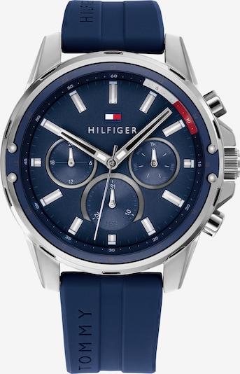 TOMMY HILFIGER Uhr in blau / silber, Produktansicht