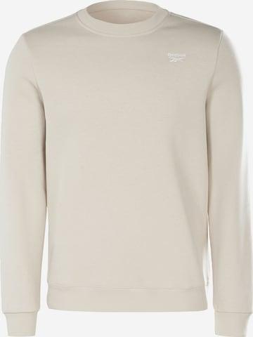 Reebok Sport Sweatshirt in Beige