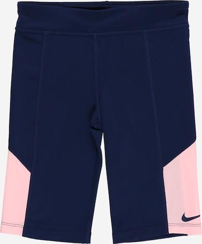 NIKE Pantalon de sport 'Trophy' en bleu marine / rose clair, Vue avec produit