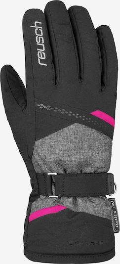 REUSCH Fingerhandschuh 'Hannah R-TEX® XT' in pink / schwarz / schwarzmeliert, Produktansicht