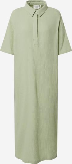 Another Label Robe-chemise 'Rubanier' en vert pastel, Vue avec produit