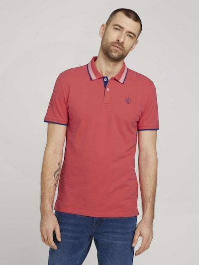 TOM TAILOR Shirt in de kleur Blauw / Pink / Rood: Vooraanzicht