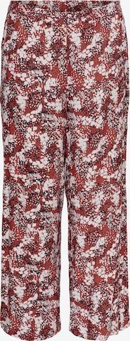 Pantaloni 'BANDI' de la ONLY Carmakoma pe roșu