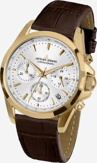 Jacques Lemans Uhr in braun / gold, Produktansicht