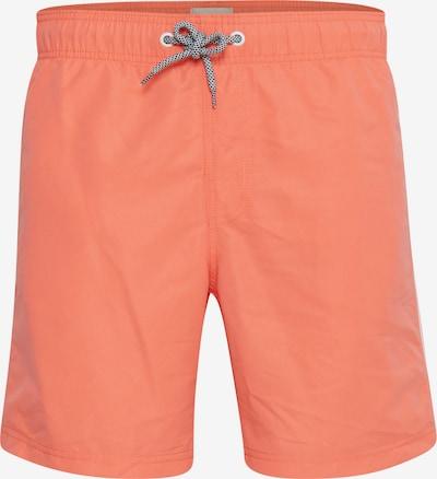 BLEND Badeshorts in orange / lachs / hellorange, Produktansicht