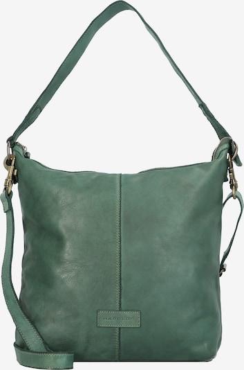 Harold's Schultertasche in grün, Produktansicht