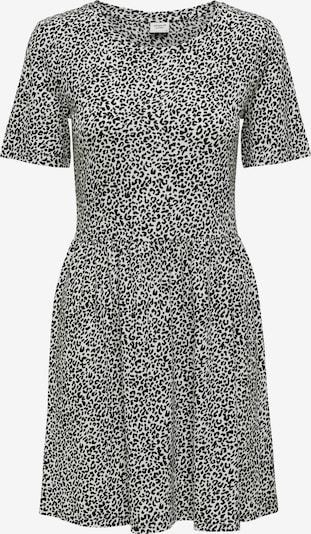 JDY Kleid 'KIRKBY' in schwarz / weiß, Produktansicht