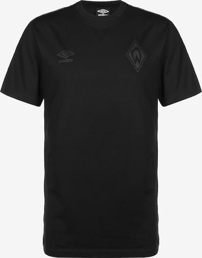 UMBRO T-shirt in schwarz, Produktansicht