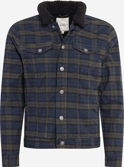 Redefined Rebel Prehodna jakna 'Jones' | temno modra / oliva barva, Prikaz izdelka