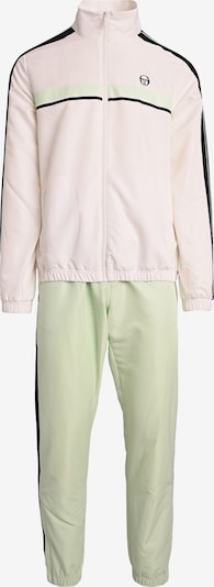 Sergio Tacchini Trainingsanzug in mint / schwarz / weiß, Produktansicht
