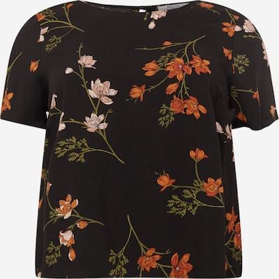 ABOUT YOU Curvy Shirt 'Elmira' in mischfarben / schwarz, Produktansicht