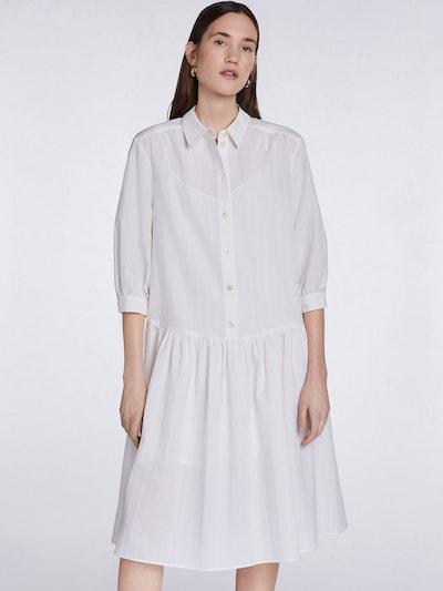 SET Blusenkleid in weiß, Modelansicht