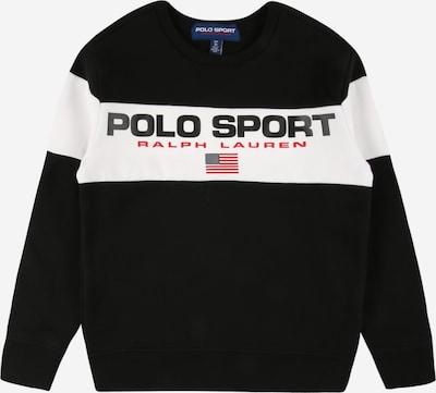 POLO RALPH LAUREN Sweatshirt in de kleur Navy / Rood / Zwart / Wit, Productweergave
