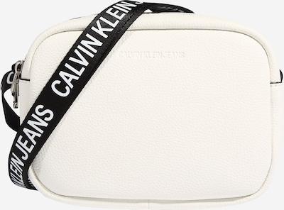 Calvin Klein Jeans Sac à bandoulière en noir / blanc, Vue avec produit