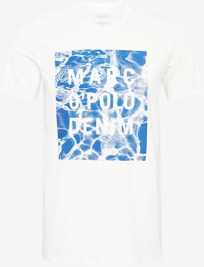 Marc O'Polo DENIM T-Shirt in blau / weiß, Produktansicht
