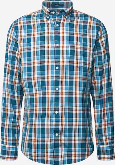 Camicia 'WINDBLOWN' GANT di colore blu / blu reale / arancione / bianco, Visualizzazione prodotti