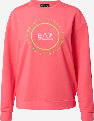 EA7 Emporio Armani Суичър в киви / розово / бяло, Преглед на продукта