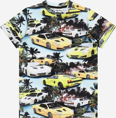 Molo Shirt 'Ralphie' in hellblau / gelb / grün / schwarz, Produktansicht