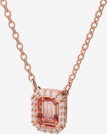Swarovski Necklace in Pink