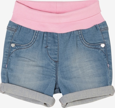s.Oliver Shorts in blue denim / rosa, Produktansicht