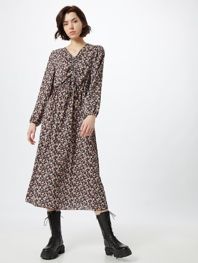 Sublevel Kleid in beige / grau / anthrazit, Modelansicht