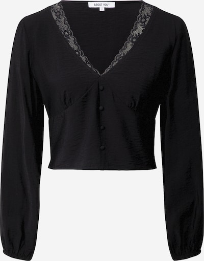ABOUT YOU Bluse 'Mette Blouse' in schwarz, Produktansicht