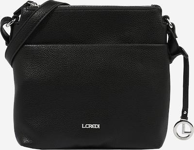 L.CREDI Bolso de hombro 'Eda' en negro, Vista del producto