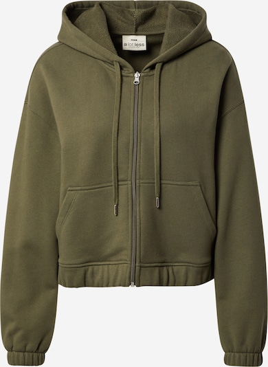 A LOT LESS Zip-Up Hoodie 'Joanna' in Khaki, Item view