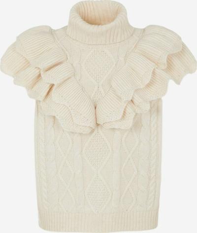 Y.A.S Pullover 'Schoko' in creme, Produktansicht