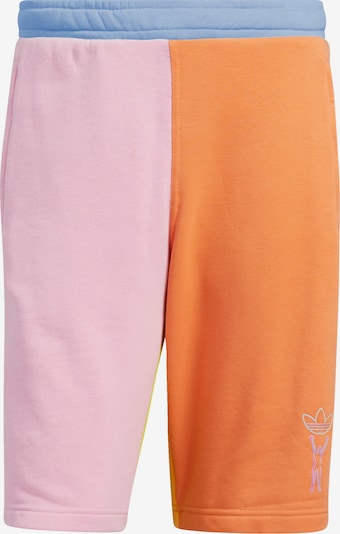 ADIDAS ORIGINALS Shorts in himmelblau / apfel / mandarine / koralle, Produktansicht