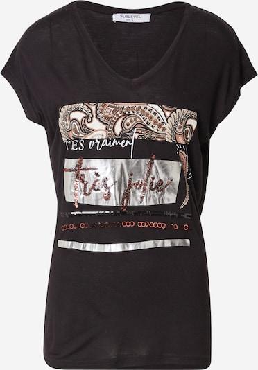 Tricou Sublevel pe mai multe culori / negru, Vizualizare produs