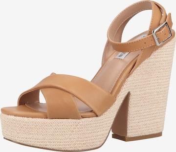 STEVE MADDEN Sandale in Braun