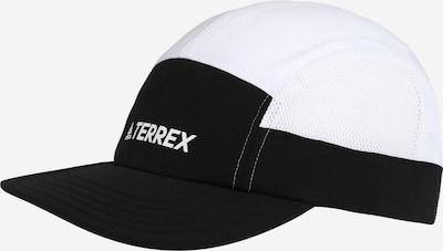 ADIDAS PERFORMANCE Gorra deportiva en negro / blanco, Vista del producto