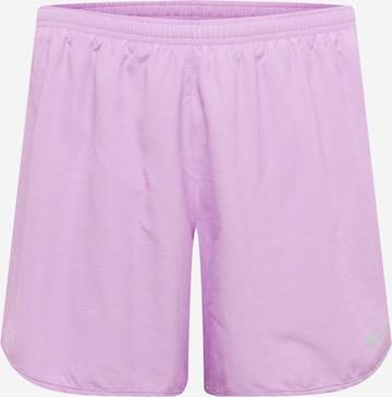 NIKE Workout Pants in Purple