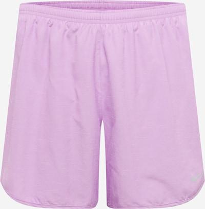 NIKE Pantalon de sport en violet clair: Vue de face