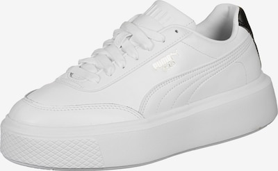 PUMA Sneakers low in Black / White, Item view