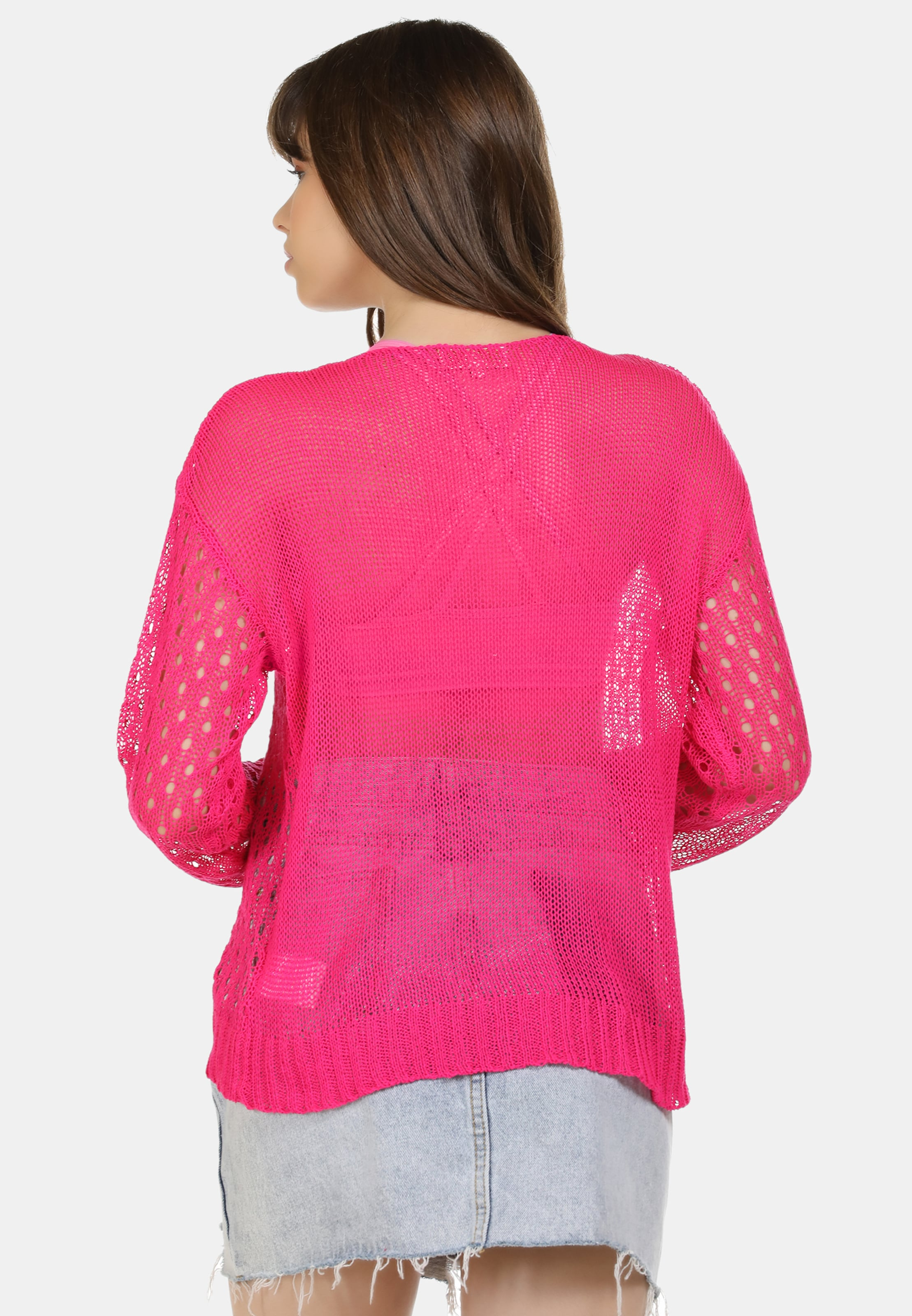 MYMO Pullover in neonpink