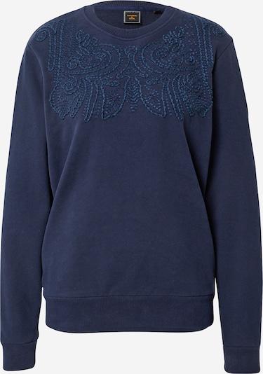 Superdry Sweat-shirt 'Bohemian' en marine, Vue avec produit