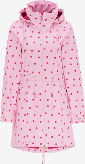 MYMO Manteau mi-saison en rose / rouge, Vue avec produit