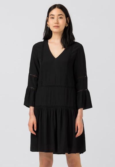 HALLHUBER Hängerkleid mit Spitzenbändern in schwarz, Modelansicht